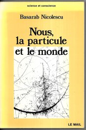 nous, la particule et le monde nicolescu