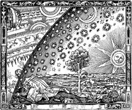 gravure Flammarion frontiere